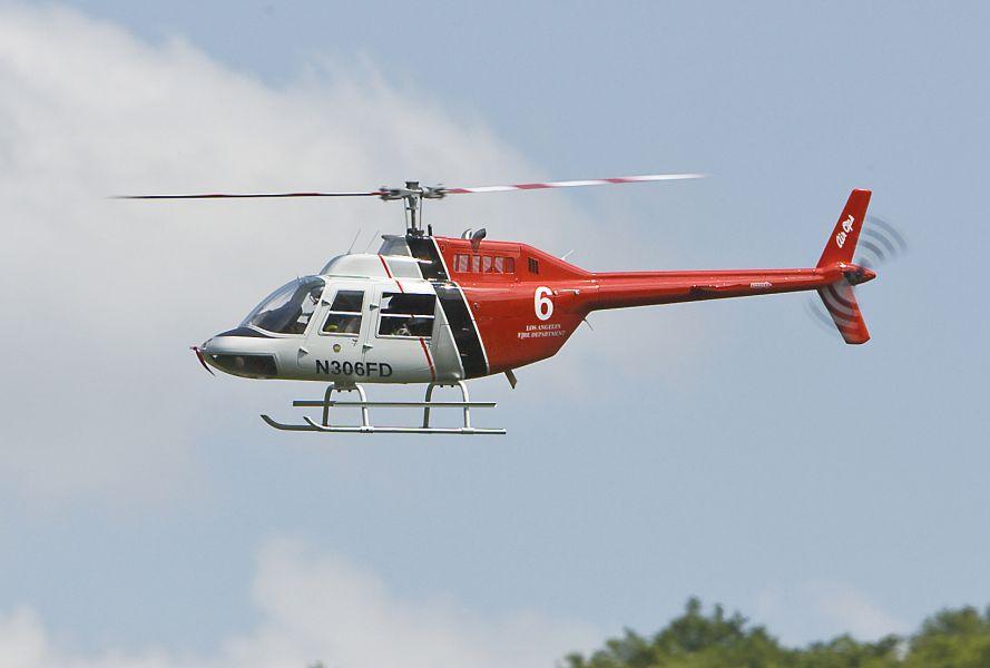 Jetranger Big 16 Rumpfbausatzordno 1004